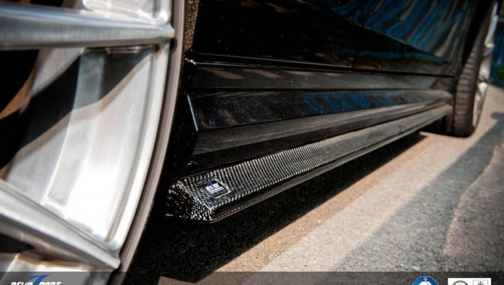 Revozport Mercedes C63 AMG looks good in carbon fiber
