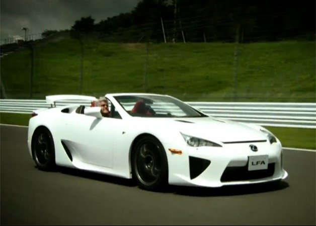 Video: Jay Leno drives the one and only Lexus LFA Roadster