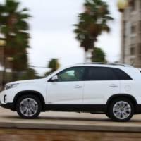 2013 Kia Sorento facelift - official details