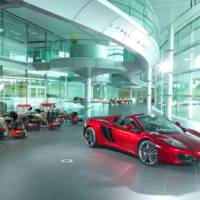 2013 McLaren MP4-12C Spider Neimann Marcus sold-out in only two hours