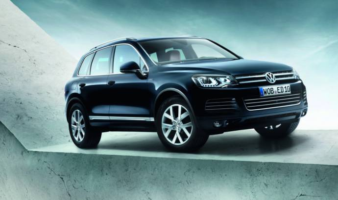 2013 Volkswagen Touareg Edition X, special version for 10th anniversary