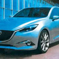 First unofficial photos of the 2014 Mazda3