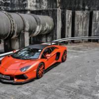 Lamborghini Aventador modified by DMC Germany