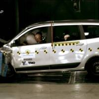 2012 Dacia Lodgy, rated only 3 stars in EuroNCAP tests