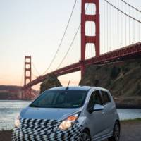 2013 Chevrolet Spark EV, revealed before LA Auto Show
