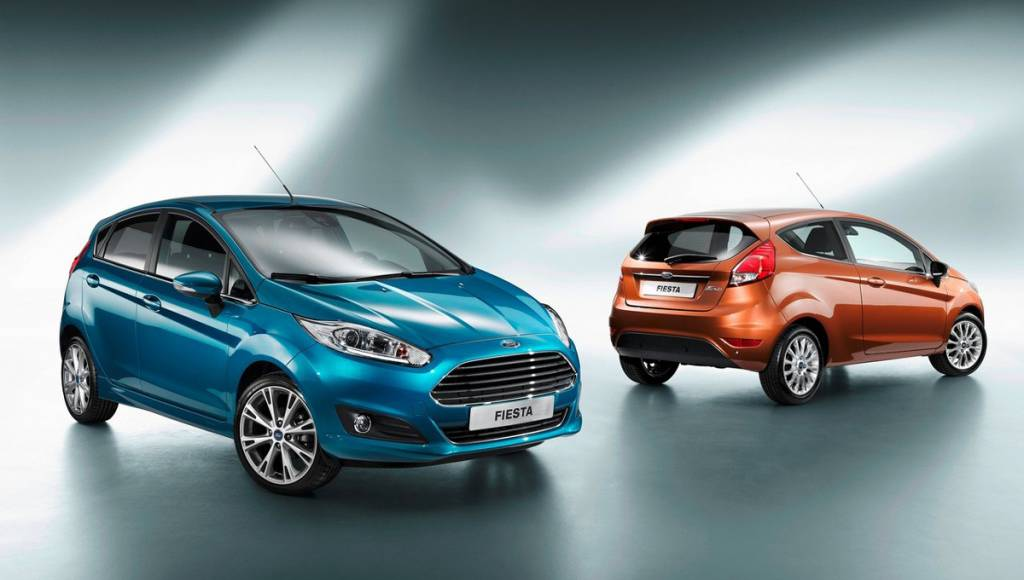 2013 Ford Fiesta enters production