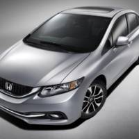 2013 Honda Civic sedan facelift - first images and details