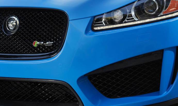 2013 Jaguar XFR-S, due to be launched at LA Motor Show