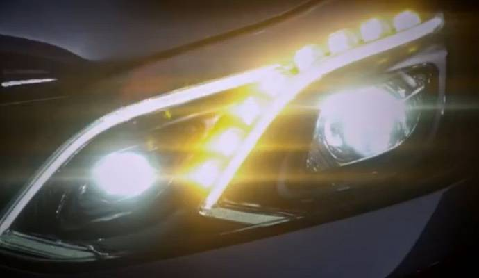 2013 Mercedes E Class new face revealed in teaser video