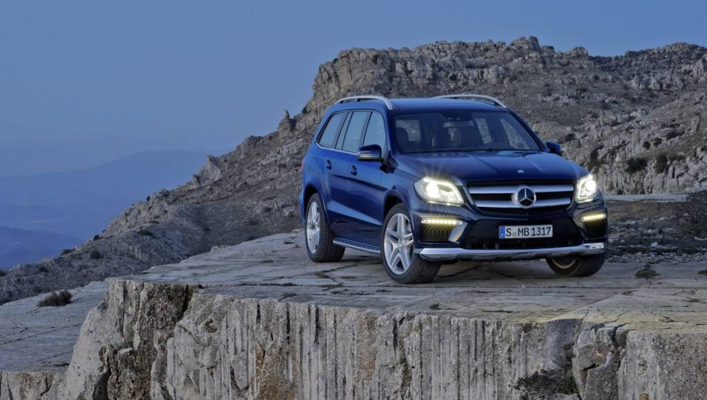 2013 Mercedes GL available at 59.465 pounds in the UK