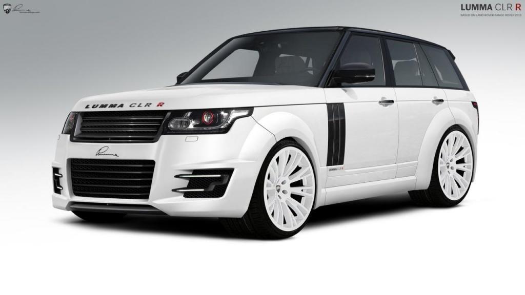 2013 Range Rover modified by Lumma Design