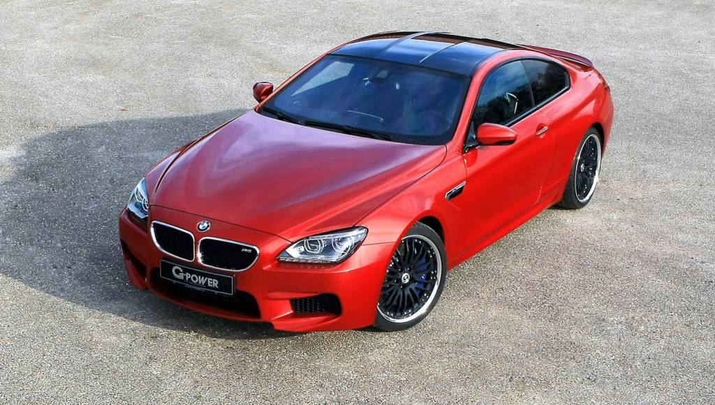 BMW M6 received G-Power treatment