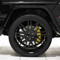 Brabus revealed the 2013 Mercedes G63 AMG