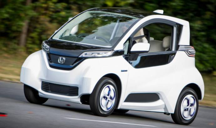 Honda reveals first images of the Micro Commuter quadricycle