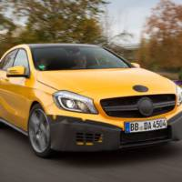 Mercedes-Benz A45 AMG - first official images and details