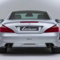 Mercedes-Benz SL500 by Lorinser is arriving in Essen