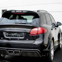 Onyx Concept Porsche Cayenne tuning package is agressive