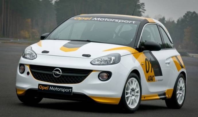 Opel returns to motorsports with Adam Cup and Astra OPC Cup