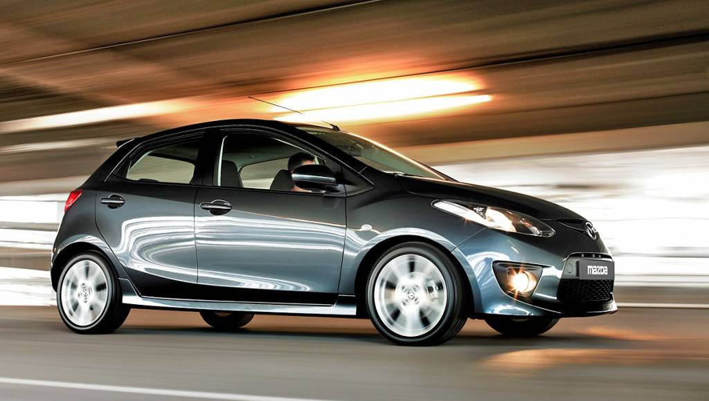 Toyota will sell a rebadged version of Mazda2 in the US