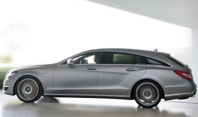 VIDEO: 2013 Mercedes CLS63 AMG Shooting Brake commercial