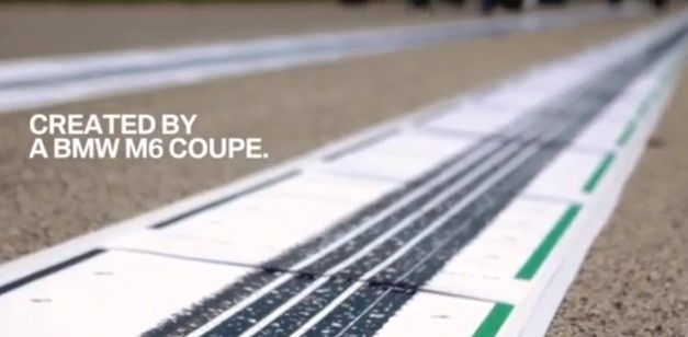 VIDEO: BMW M6 creates postcards for its fans