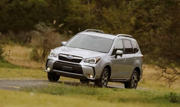 2013 Subaru Forester - UK engine line-up