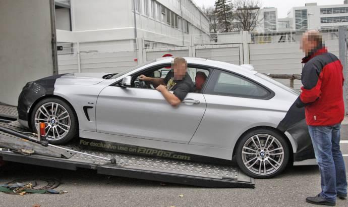 Spy Pics: BMW 4 Series