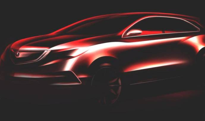 2014 Acura MDX Concept will shine in Detroit Motor Show