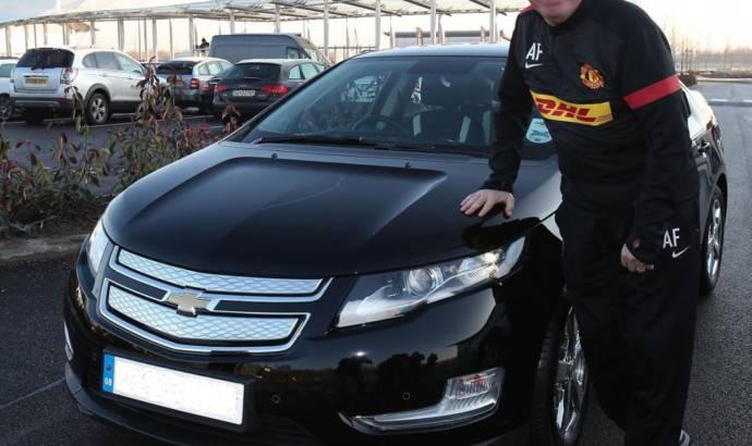 Alex Ferguson received a Chevrolet Volt