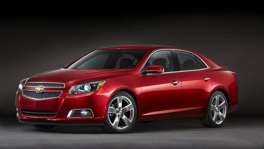 Chevrolet Malibu will get an emergency facelift in 2013