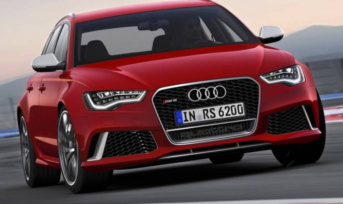 First official photos of the 2014 Audi RS6 Avant