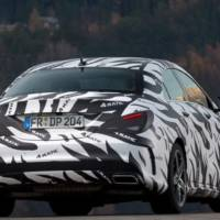 First official spy photos of the Mercedes CLA and CLA 45 AMG