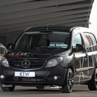 First tuning package for the Mercedes-Benz Citan Van comes from KTW Tuning