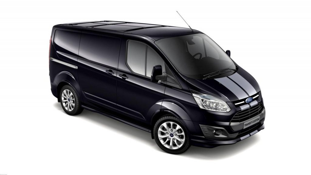 Ford Transit Custom Sport - special edition for the UK, priced at 34.950 euros
