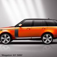 Hofele Design 2013 Range Rover tuning kit is called Royster GT500