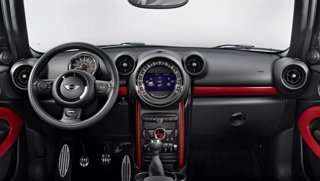 Mini Paceman JCW - official pictures and specs