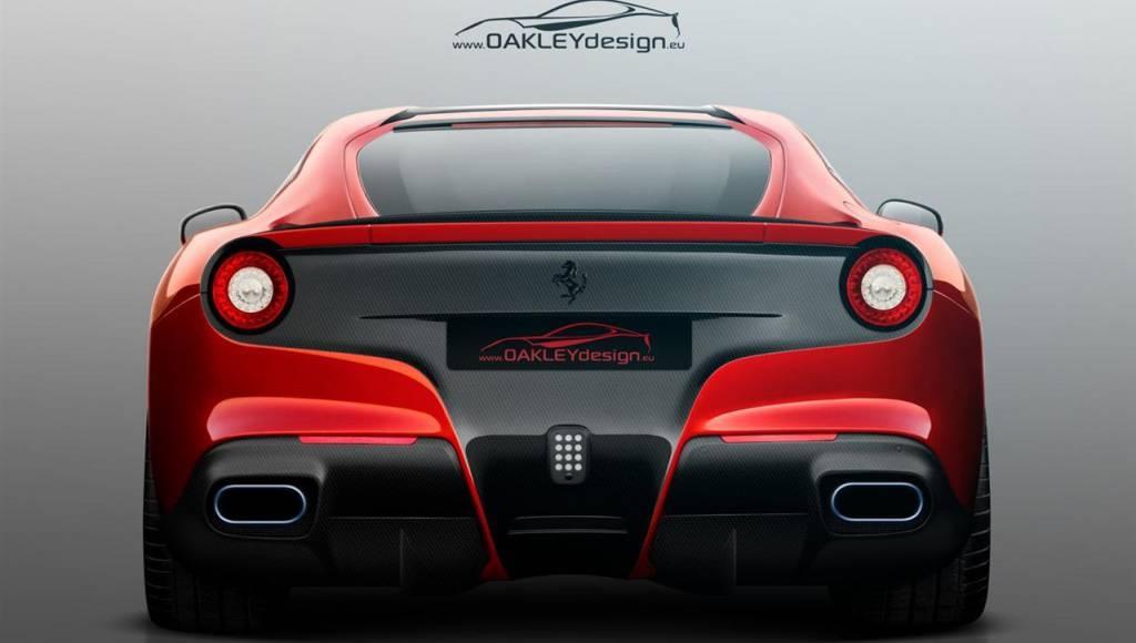 Oakley Design Ferrari F12 Berlinetta is rather a shy temptation