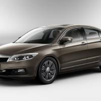 Qoros GQ3 - first official images of the chinese saloon