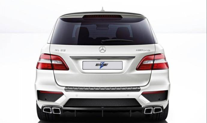Revozport Mercedes ML63 AMG tuning kit with 600 hp