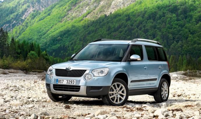 Skoda Polar - the name for an SUV smaller than the Yeti