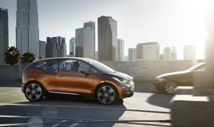 VIDEO: 2013 BMW i3 Coupe Concept filmed on LA streets