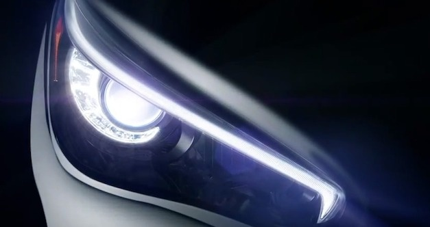 Video: First teaser for the upcoming Infiniti Q50