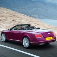 2013 Bentley Continental GT Speed Convertible - leaked photos