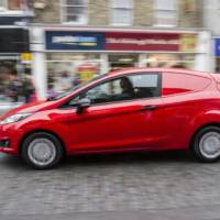 2013 Ford Fiesta Van launched in the UK