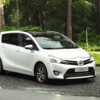 2013 Toyota Verso, priced from 17.495 pounds in UK