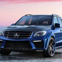 760 hp for the 2012 Mercedes ML63 AMG thanks to TopCar