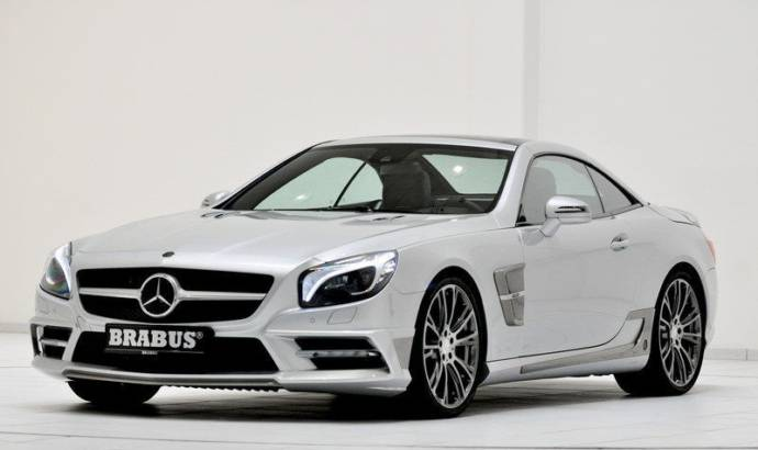 Brabus revealed an astonishing package for the 2013 Mercedes-Benz SL500