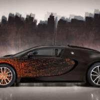 Bugatti Veyron Grand Sport Venet - the fastest artwork ever