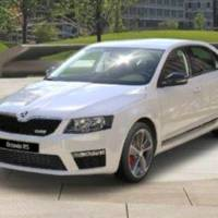 First photos of the 2013 Skoda Octavia RS