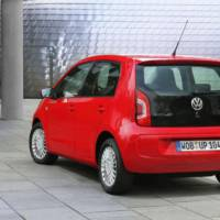 Volkswagen Eco Up! can return 2.9 liters of CNG per 100 km